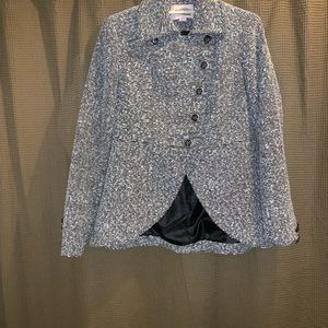 Forever 21 equestrian style tweed blazer size M